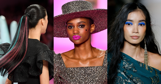 Bold, Bright Beauty Is Trending At New York Fashion Week