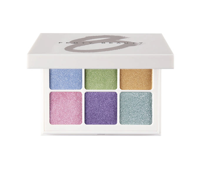 """**Snap Shadows Eyeshadow Palette in Pastel Frost, $39 at [Sephora](https://www.sephora.com.au/products/fenty-beauty-snap-shadows-eyeshadow-palette/v/pastel-frost