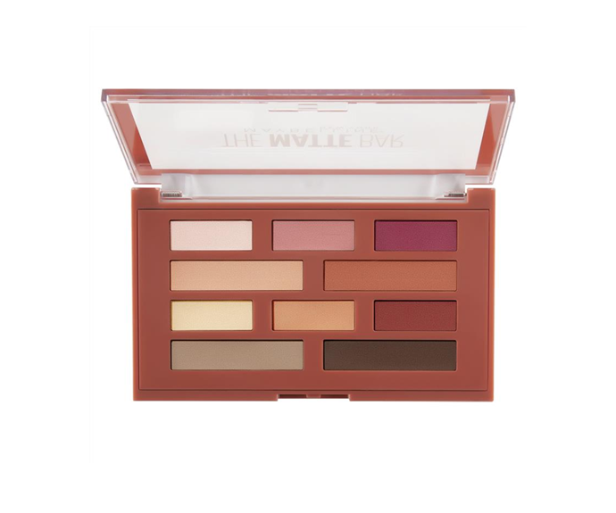 """**The Matte Bar Eyeshadow Palette by Maybelline New York, $27.99 at [Cosmetic Capital](https://www.cosmeticcapital.com.au/maybelline-the-matte-bar-eyeshadow-palette-300-9.7?gclid=CjwKCAjw4871BRAjEiwAbxXi2-yBPjCdc5zZGj6UqgnpdAGOyXeFpGgdt-L_zTBb1W2HMX_6VNJeHBoCExQQAvD_BwE