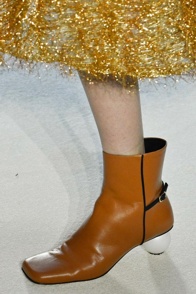 Shoes at JW Anderson autumn/winter '20.