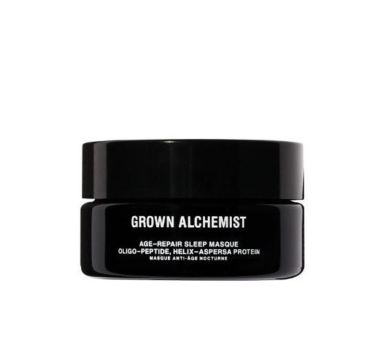 """**Age Repair Sleep Masque by Grown Alchemist, $100 for 40mL at [David Jones](https://fave.co/2vIPwOW target=""""_blank"""" rel=""""nofollow"""")** <br><br> For those looking for a natural product, you can't go wrong with Grown Alchemist's sleep 'masque', which incorporates a multitude of effective natural anti-ageing remedies."""