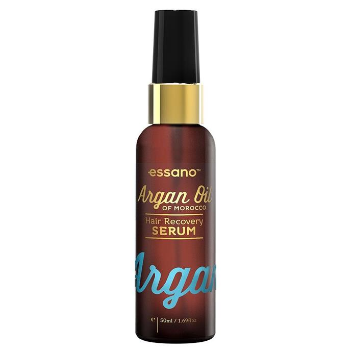 """**BEST LEAVE-IN SERUM**<br><br>  When it comes to fuss-free products that get the job done, this [well-loved argan oil serum](https://www.beautyheaven.com.au/hair/hair-treatments-masks/product/argan-oil-hair-recovery-serum