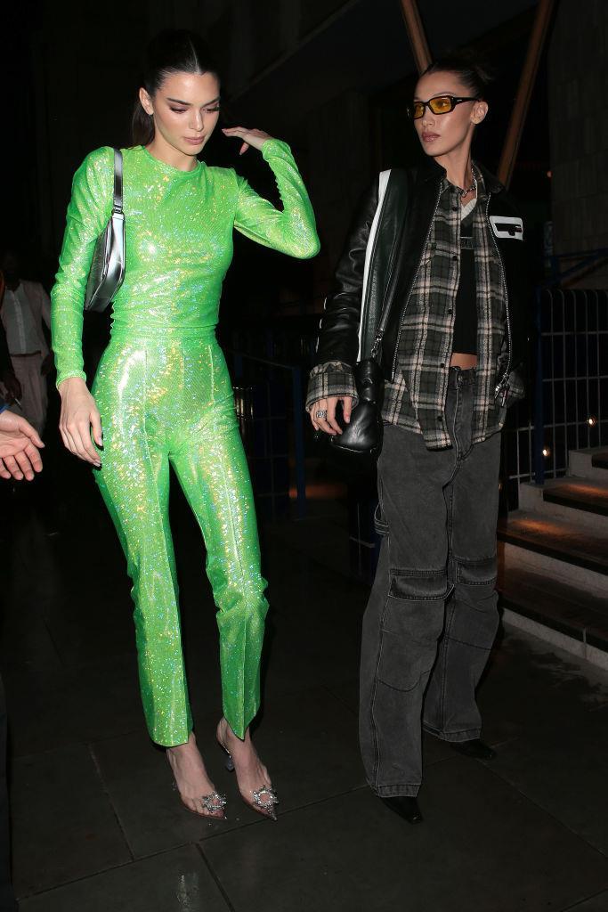 Kendall Jenner and Bella Hadid.