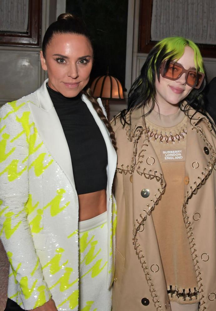 Billie Eilish and Melanie Chisholm (AKA 'Sporty Spice').