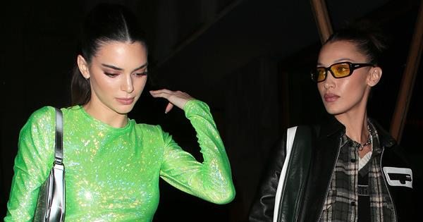 Kendall Jenner And Bella Hadid Could Not Have Dressed More Differently For The BRIT Awards After Party