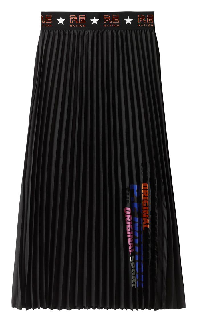 Electric Eye Skirt, $79.00 by P.E Nation x H&M