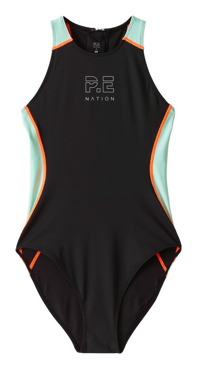 Flex It Swimsuit, $59.99 at P.E Nation x H&M