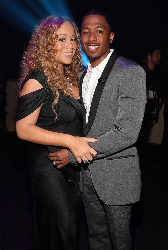 "**Mariah Carey and Nick Cannon**<br><br>  **Age difference:** 10 years.<br><br>  Mariah Carey, 49, and Nick Cannon, 39, dated for [only two months](https://www.elle.com.au/celebrity/celebrity-couples-who-got-married-quickly-9697|target=""_blank"") before they tied the knot in 2008.<br><br>  Although they parted ways after eight years of marriage, the pair remain on good terms and co-parent their children, Morocco and Monroe, spending many of the holidays together."