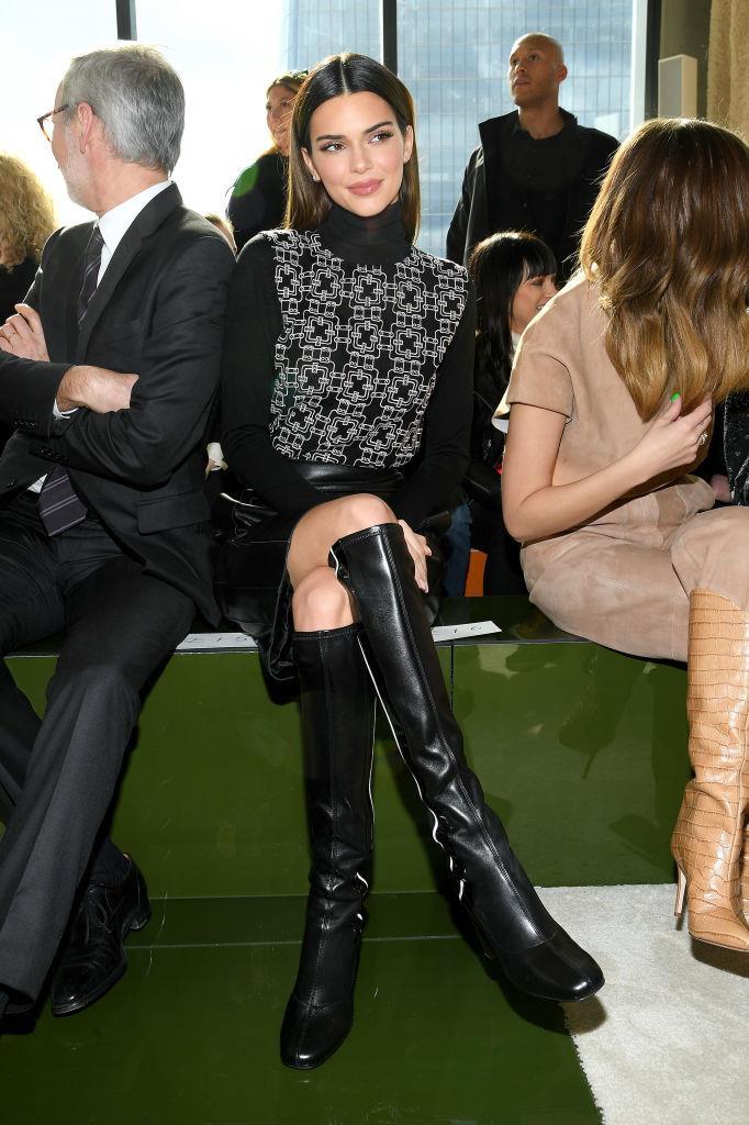 Kendall Jenner at Longchamp.