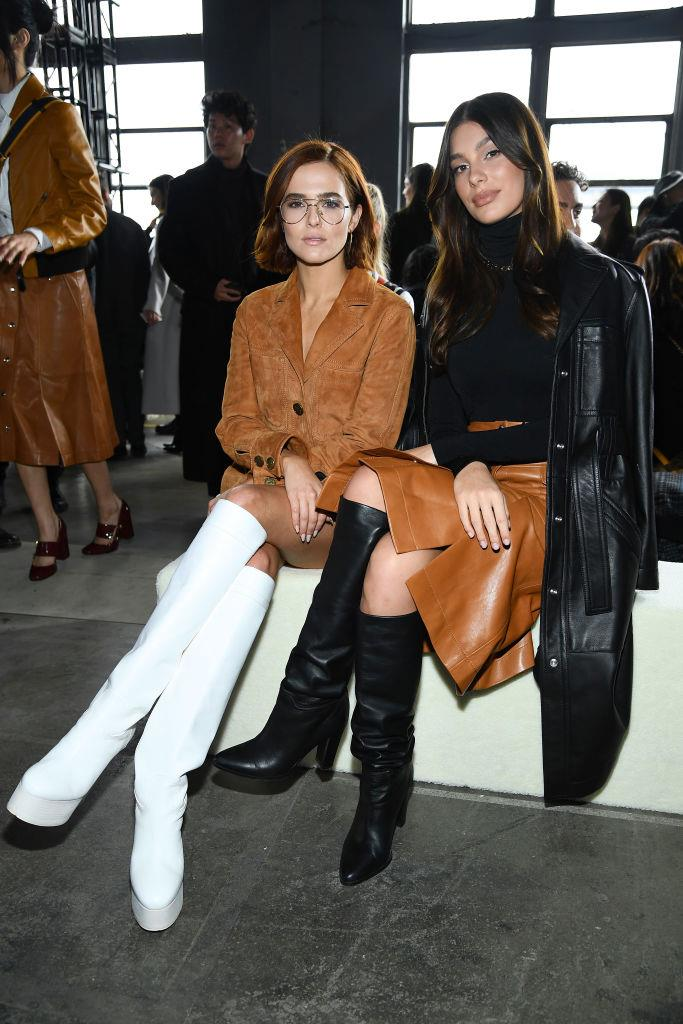 Zoey Deutch and Camila Morrone at Coach 1941.
