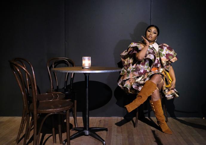 Nicki Minaj at Marc Jacobs.