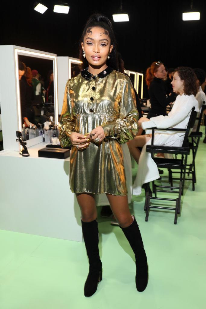 Yara Shahidi at Gucci.