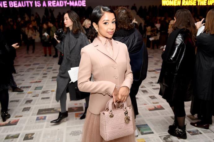 Liza Koshy at Dior.