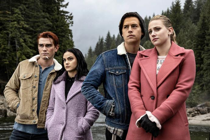***Riverdale***: **Season 4 (4/3/20)**<br><br>  Daring adventure meets chilling darkness as Riverdale explores a new side of grief and the gang prepares for the ultimate test: senior year.