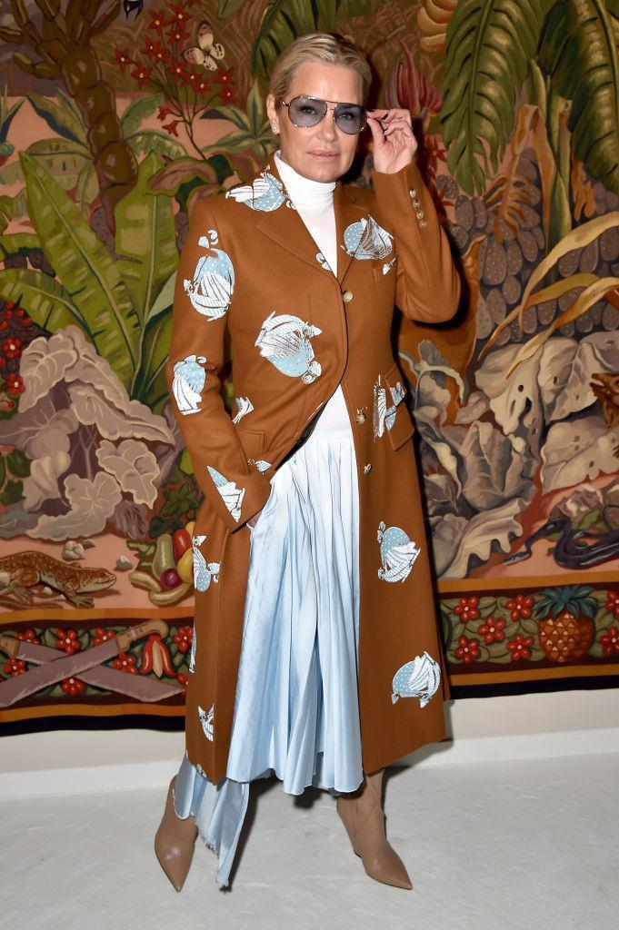 Yolanda Hadid at Lanvin.
