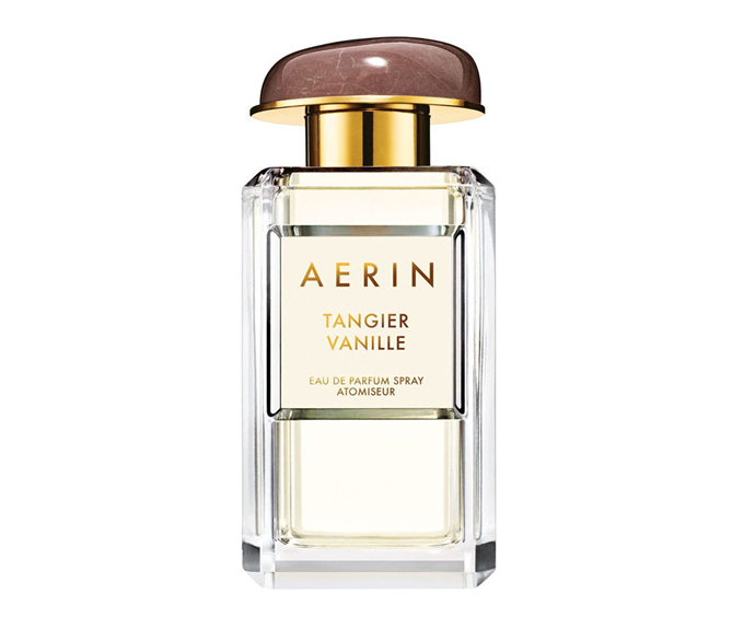 "**Tangier Vanille by Aerin, $180 at [Myer](https://www.myer.com.au/p/aerin-tangier-vanille-50ml|target=""_blank"")**<br> The gemstone-topped bottle is chic, but the light yet intoxicating musk, vanilla and sandalwood scent it houses is even chicer."