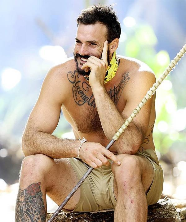 Locky Gilbert on *Survivor* Australia. *Image courtesy of Network 10*.