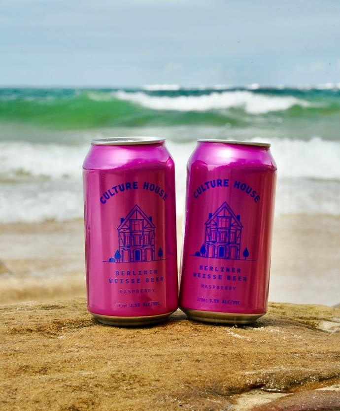 """Culture House Raspberry Berliner Weisse is available from [BWS](https://bws.com.au/product/59828/