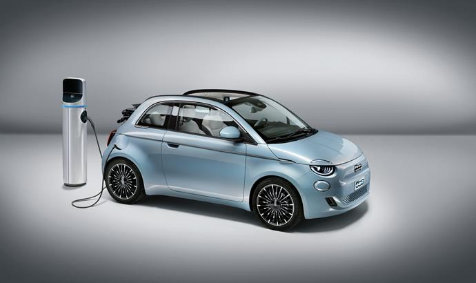 The 2020 Fiat 500 is FCA's first fully electric car.