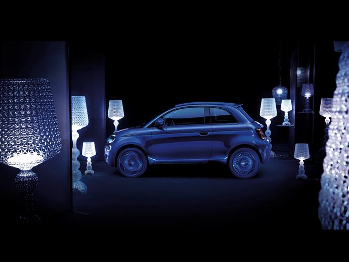 Kartell's one-off Fiat 500