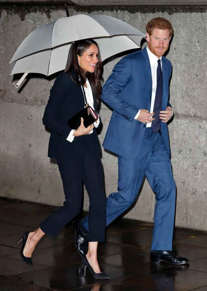 Meghan and Harry at the 2018 Endeavour Fund Awards.