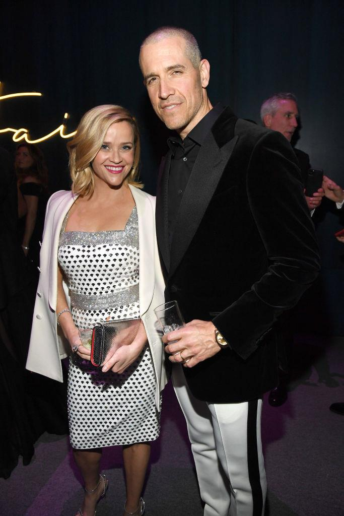 "**Reese Witherspoon and Jim Toth** <br><br> Witherspoon and Toth actually met when she was being hit on by someone else at a party, and Toth intervened. ""This really drunk guy was hitting on me, making such an idiot of himself, yelling at me,"" Witherspoon explained to [*ELLE* U.S.](https://www.elle.com/culture/celebrities/g2801/reese-witherspoon-unbound-612491/?slide=1