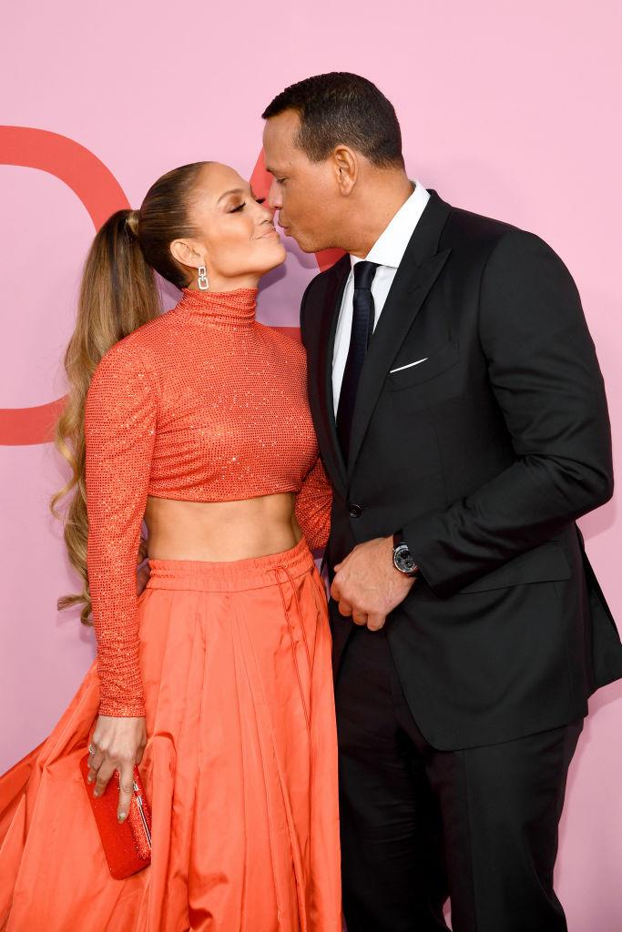 "**Jennifer Lopez and Alex Rodriguez** <br><br> Like David Beckham with Victoria, J-Lo was A-Rod's 'dream date', something that was proven by an adorable video interview that surfaced after their 2019 engagement. In footage of the baseball player from 1998, an interviewer asks him ""What would a dream date with Alex Rodriguez be?"" to which he responds: ""Jennifer Lopez. Hopefully you can find me a date with her."" (*Watch the adorable footage below.*)"