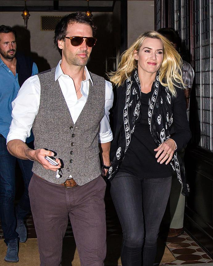"**Kate Winslet and Ned Rocknroll** <br><br> While some couples' surprise meetings are adorable or funny, Kate Winslet met her now-husband Ned Rocknroll (previously Edward Abel Smith) in particularly terrifying circumstances. During a trip to Necker Island—a private island in the Caribbean, owned by Rocknroll's uncle, Virgin CEO Richard Branson—the private villa she was staying in was struck by lightning, before her now-husband appeared to help her family to safety. <br><br> ""I met my husband in a house fire. He was the only dude to have a head torch and a pair of shoes, everyone else left everything behind,"" Winslet explained in a 2017 interview with *[ET](https://www.etonline.com/exclusive-kate-winslet-recalls-meeting-husband-during-necker-island-fire-i-ran-out-bra-passports