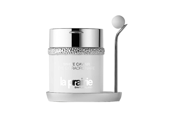 "**White Caviar Eye Extraordinaire Illuminating Eye Cream, $805 by [La Prairie](https://www.laprairie.com.au/au/eye-extraordinaire/95790-01320-41.html|target=""_blank"")**<br><br/> Enriched with Golden Caviar Extract and Lumidose, a highly powerful illuminating molecule, this elasticity-enhancing eye cream firms skin, fights dullness and aids you in creating an evening ritual that's every bit as luxuriously decadent as its price tag would suggest."