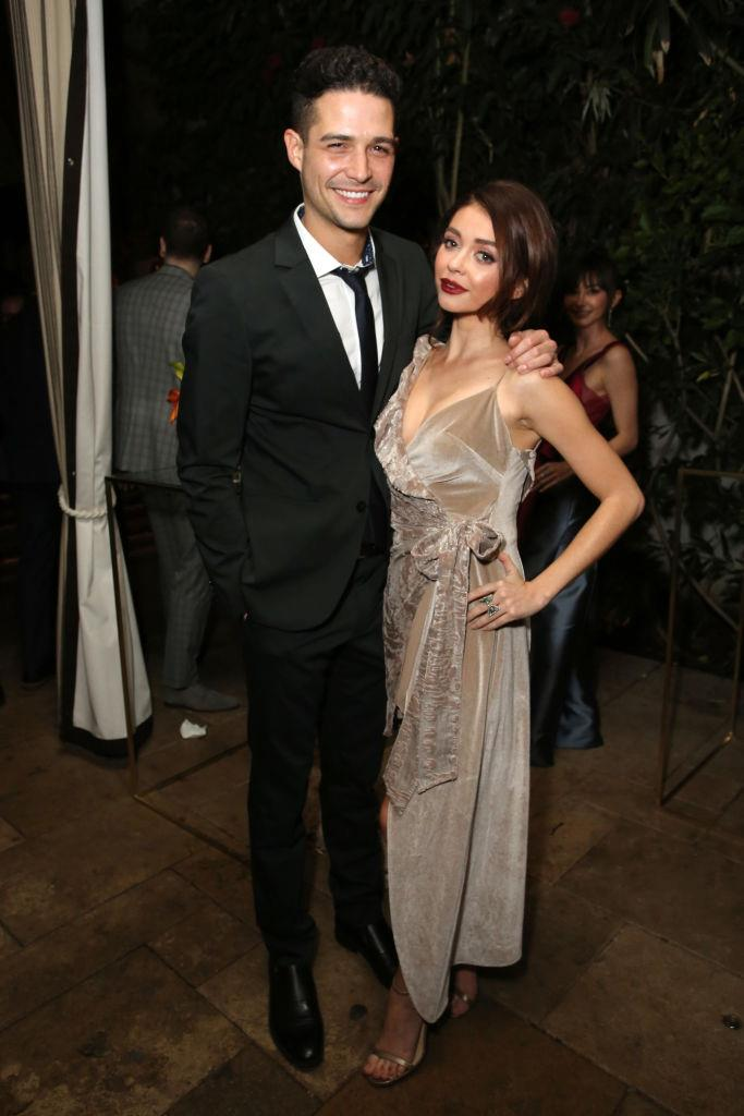 "**Sarah Hyland and Wells Adams** <br><br> Hyland, who became famous for her role on *Modern Family*, actually met her now-husband via a Twitter exchange, after he starred on the U.S. *Bachelorette* series. Considering she's a *Bachelorette* fan (just like many of us), Hyland explained on *The Ellen Show*: ""I saw him on *The Bachelorette* and then he became the bartender on *Bachelor in Paradise* and I was like 'Yeah, uh huh. I thought he was real hot and then he slid into the DMs 'cause I tweeted about him."" After years of dating, the two eventually married in 2018."