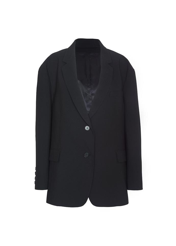 """**The purposefully oversized piece** <br><br> Yes, tailored blazers are timeless, but the oversized, 'boyfriend'-style blazer trend won't die any time soon. Take, for example, the 'Boyfriend's' blazer by U.S. brand Frankie Shop, which'll look good thrown over literally anything you wear. <br><br> *Black oversized 'Boyfriend's' blazer by Frankie Shop, approx. $253 at [Frankie Shop](https://thefrankieshop.com/products/black-oversized-boyfriends-blazer