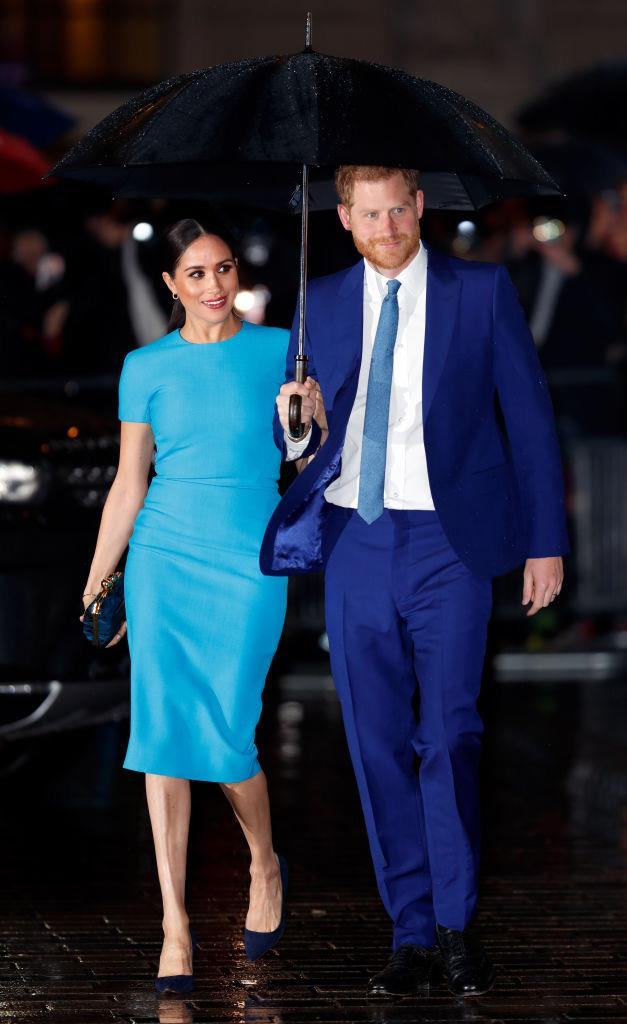 Meghan Markle and Prince Harry on March 5, 2020.