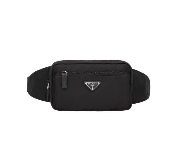 "*Nylon logo plaque belt bag by Prada, $1,080 at [Farfetch](https://fave.co/2IzHTOk|target=""_blank""