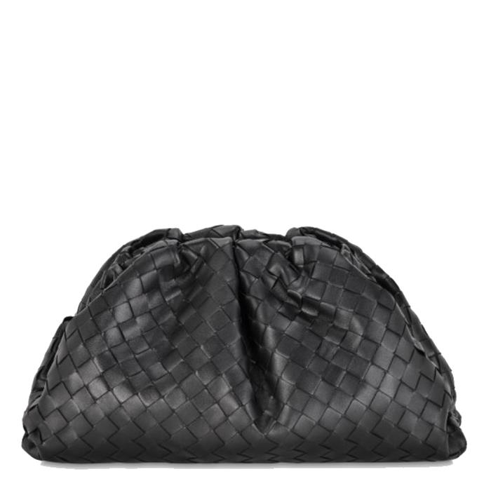 "*'Pouch Intrecciato' bag by Bottega Veneta, $4,260 at [MATCHESFASHION](https://fave.co/38IVywW|target=""_blank""