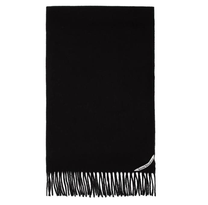 "**'Canada' oversized scarf by Acne Studios, $260 at [SSENSE](https://fave.co/2TGLIHy|target=""_blank""