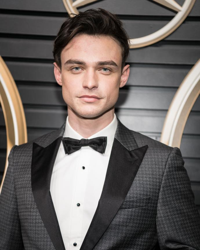 **Thomas Doherty**<br><br>  While he certainly has the Chuck Bass jawline, nothing is known about 24-year-old Thomas Doherty's role in the reboot as yet. Announced alongside Gevinson, the Scottish actor is known for his roles as Sean Matthews on the Disney Channel musical series *The Lodge* and as Harry Hook in the *Descendants* film franchise.