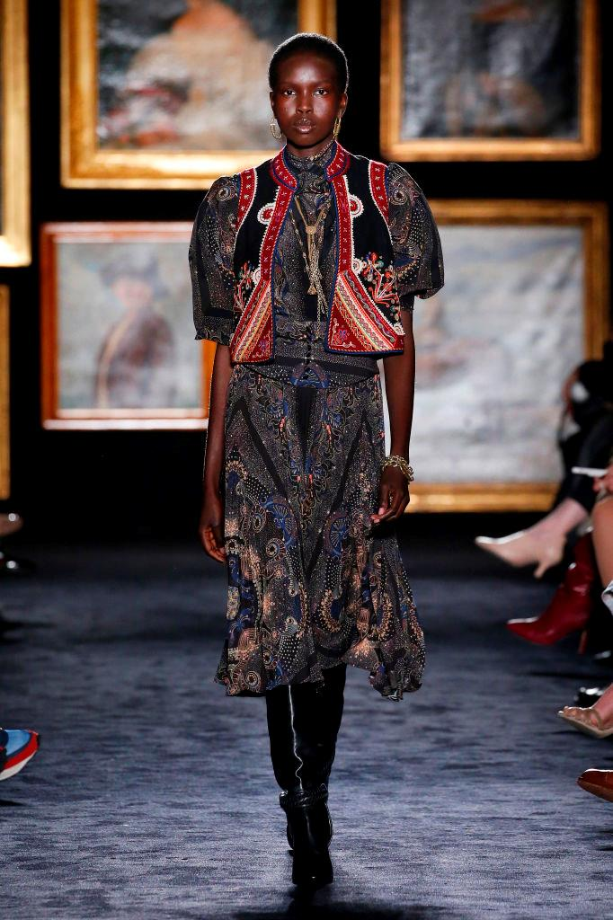 **Playing With Proportion**<br><br>  *Etro autumn/winter '20/'21*