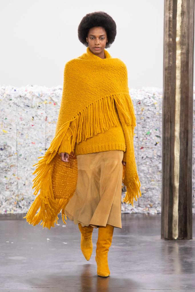 **Ponchos**<br><br>  *Gabriela Hearst autumn/winter '20/'21*