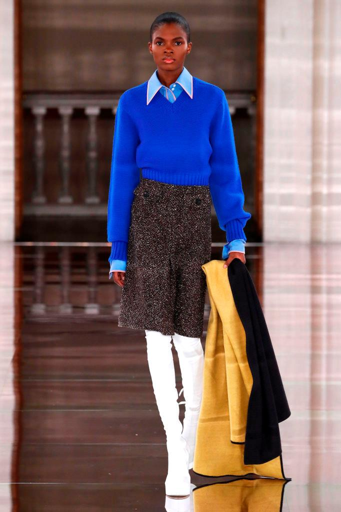 **Preppy**<br><br>  *Victoria Beckham autumn/winter '20/'21*