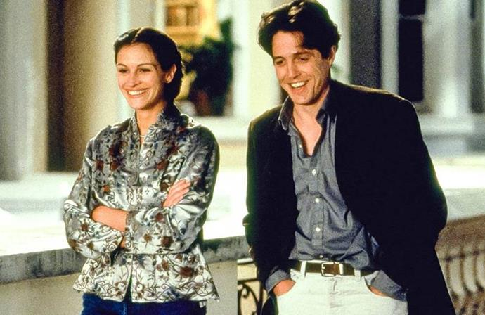 **Notting Hill**<br><br>  A beloved classic starring Julia Roberts and Hugh Grant, *Notting Hill* is the tale of a simple bookshop owner whose life changes when he meets the most famous film star in the world.