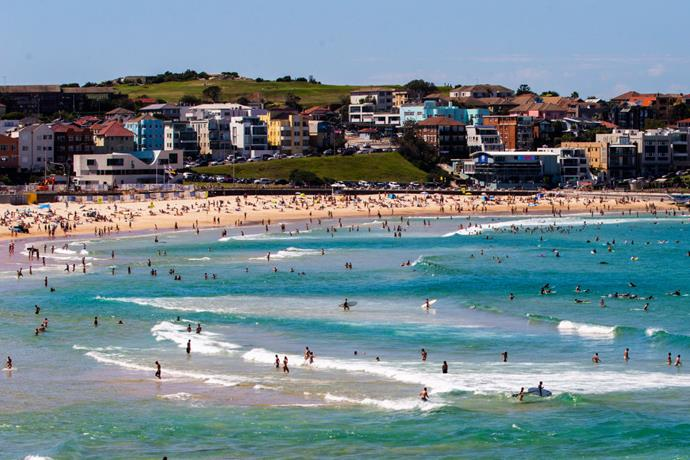Sydneysiders flocked to Bondi Beach on March 20, 2020. The beach was closed to the public the following day as a part of new government safety measures.