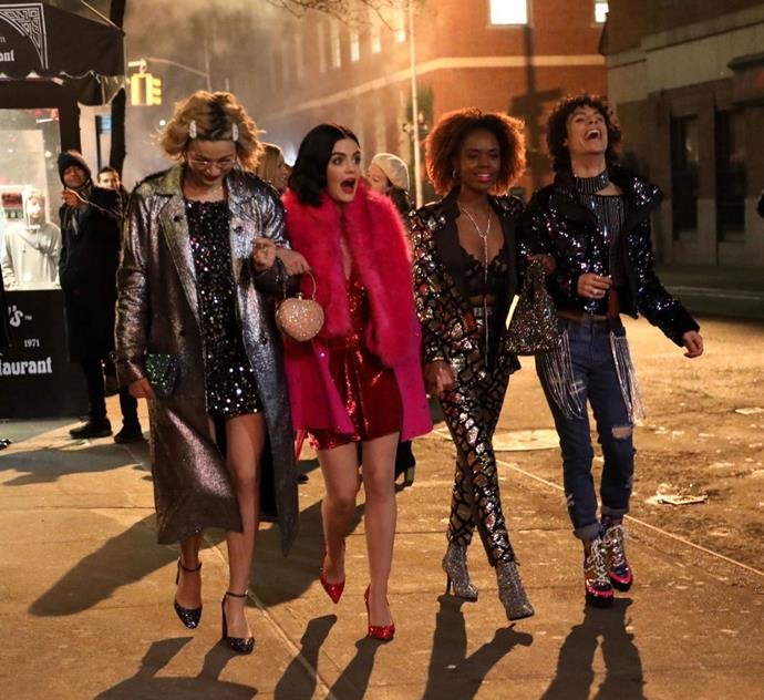 """***Katy Keene***<br><br>  **Watch if you like:** *Riverdale*, *Glee*, *Sex and the City* if it had a Disney-esque twist<br> **Where to watch:** Foxtel Now, Foxtel Go<br><br>  A spin-off of *Riverdale*, this musical dramedy is set in the same universe as the popular comic-book-series-turned-TV-show, but several years ahead of its current timeline. The story follows the life of [Katy Keene](https://www.elle.com.au/culture/katy-keene-tv-show-21216 target=""""_blank""""), a twenty-something aspiring fashion designer and her three best friends in New York City, as they """"try to make it on Broadway, on the runway and in the recording studio"""".<br><br>  Check out the trailer for *Katy Keene* below."""