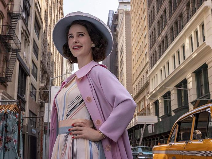 ***The Marvelous Mrs. Maisel***<br><br>  **Watch if you like:** *Mad Men* (for the fashion), *Fleabag*, *Crazy Ex-Girlfriend*<br> **Where to watch:** Amazon Prime<br><br>  Sick of 2020? Why not dial the clock back a few decades with *The Marvelous Mrs. Maisel*. Set in 1958 New York, this eight-time Emmy Award winner tells the story of Midge Maisel, whose life is on-track: husband, kids and elegant Yom Kippur dinners in their Upper West Side apartment. But when her life takes a surprise turn, she has to quickly decide what else she's good at—and going from housewife to stand-up comic is a wild choice to everyone but her.<br><br>  Check out the trailer for *The Marvelous Mrs. Maisel* below.