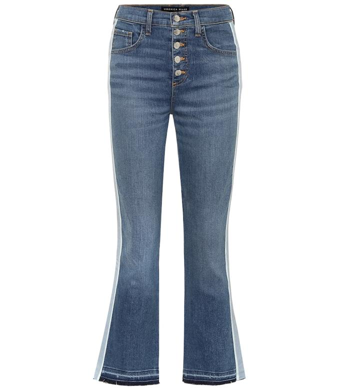 "**Carolyn high-rise bootcut jeans by Veronica Beard, $515 at [My Theresa](https://www.mytheresa.com/en-au/veronica-beard-carolyn-high-rise-bootcut-jeans-1441194.html?catref=category|target=""_blank""