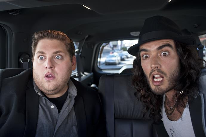 ***Get Him to the Greek*** **(10/4/2020)**<br><br>  An ambitious executive at a record company, Aaron Green (Jonah Hill) gets what looks like an easy assignment: He must escort British rock legend Aldous Snow (Russell Brand) to L.A.'s Greek Theatre for the first stop on a lucrative comeback-concert tour. Snow, however, has different plans. Learning his true love is in California, the rocker vows to win her back before starting the tour, forcing Aaron to pull out all the stops to get Snow on stage in time.