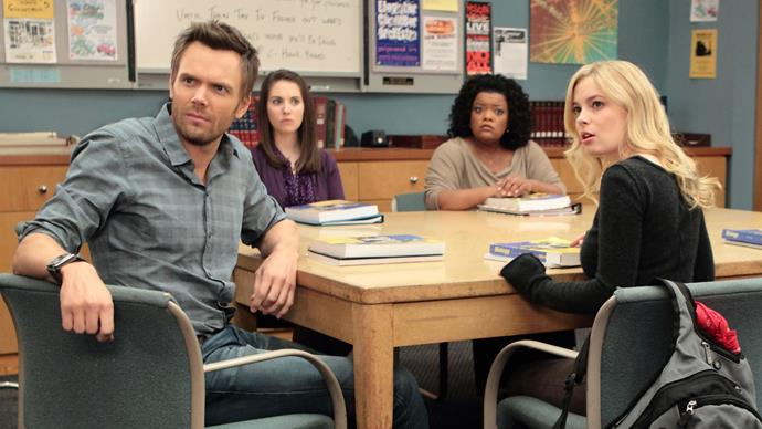 ***Community:*** **Seasons 1 to 6 (1/4/2020)**<br><br>  A lawyer is scuppered when it is discovered that he has falsely claimed to have a Bachelor's degree. He is suspended and enrolls himself into community college. He forms a study group so that he can get closer to an attractive student. The study group includes a millionaire, a former drug addict, a former quarterback, a single mother, and a film student.