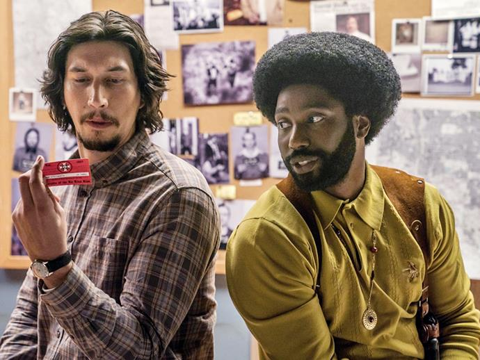***BlacKkKlansman*** **(5/4/2020)**<br><Br>  Ron Stallworth is the first African-American detective to serve in the Colorado Springs Police Department. Determined to make a name for himself, Stallworth bravely sets out on a dangerous mission: infiltrate and expose the Ku Klux Klan. The detective soon recruits a more seasoned colleague, Flip Zimmerman, into the undercover investigation of a lifetime. Together, they team up to take down the extremist hate group as the organisation aims to sanitise its rhetoric to appeal to the mainstream.