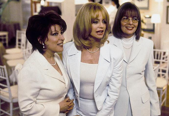 ***The First Wives Club*** **(1/4/2020)**<br><br>  Despondent over the marriage of her ex-husband to a younger woman, a middle-aged divorcée plunges to her death from her penthouse. At the woman's funeral, her former college friends (Bette Midler, Goldie Hawn, Diane Keaton) reunite for the first time in nearly 30 years. When the three discover the reason for their friend's suicide, they realize that all of their ex-husbands have taken them for granted, and deciding it's time for revenge, they make a pact to get back at their exes.