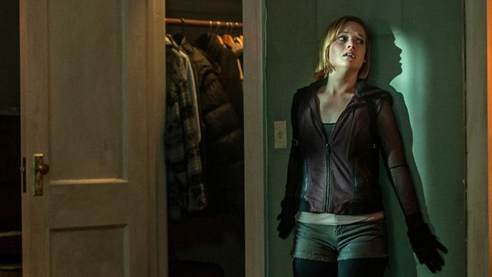 ***Don't Breathe*** **(1/4/2020)**<br><br>  Rocky (Jane Levy), Alex and Money are three Detroit thieves who get their kicks by breaking into the houses of wealthy people. Money gets word about a blind veteran who won a major cash settlement following the death of his only child. Figuring he's an easy target, the trio invades the man's secluded home in an abandoned neighbourhood. Finding themselves trapped inside, the young intruders must fight for their lives after making a shocking discovery about their supposedly helpless victim.