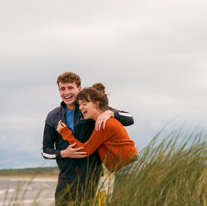 """***Normal People*** **(27/4/2020)**<br><br>  Rejoice: all 12 episodes of the TV adaption of Sally Rooney's best-selling novel [*Normal People*](https://www.elle.com.au/culture/normal-people-cast-20615